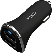 iWalk 4.8A Dual-USB Car Charger