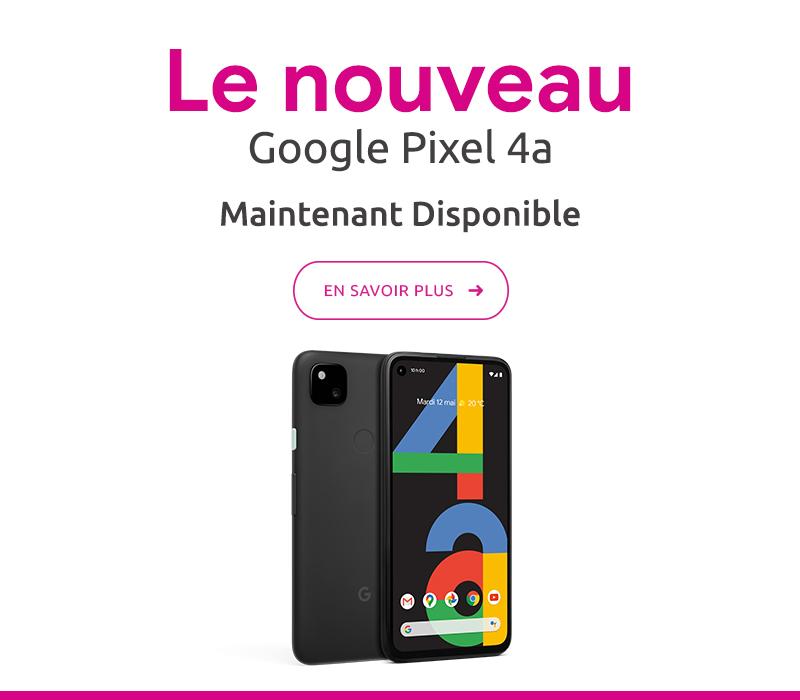En savoir plus sur le Google Pixel 4a
