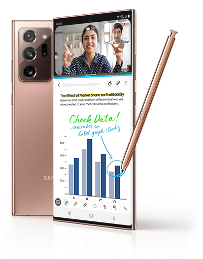 Image of Samsung Galaxy Note20 Ultra 5G
