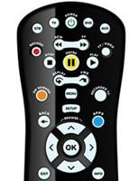 Regular Button DTV Remote