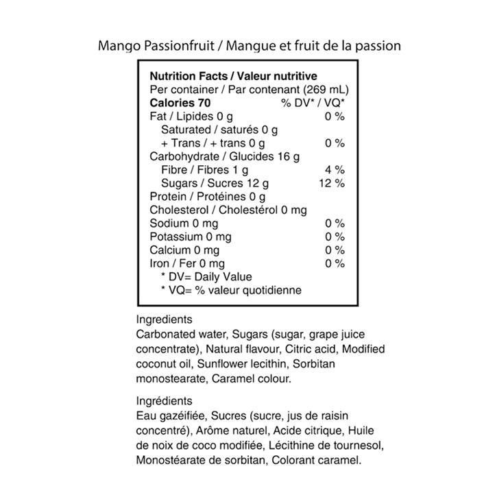 Mango Passionfruit CBD  - Everie - Sparkling Water
