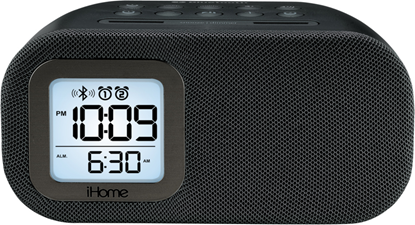iHome Bluetooth Alarm Clock Radio with USB Charging