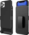 Blu Element iPhone 11 Pro Max Armour 2X Black Case and Holster Combo BULK