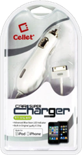 Cellet Apple Certified 6' 30-pin Car Charger