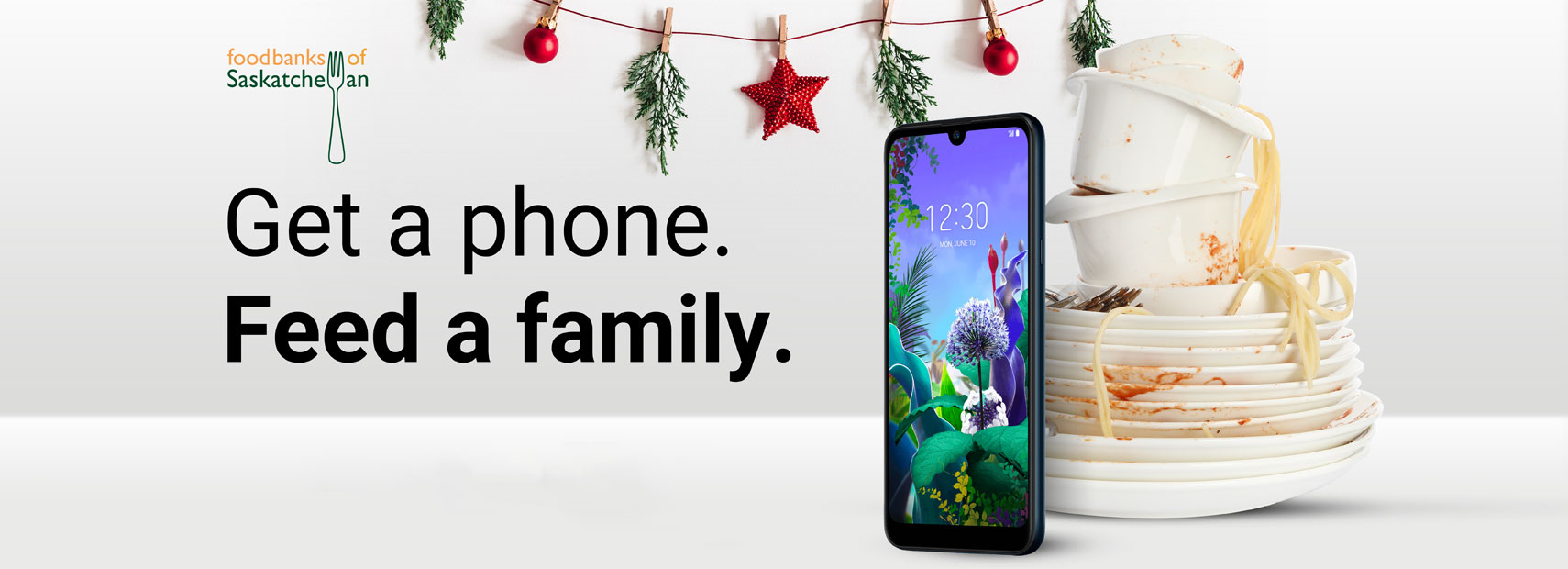 Get a phone, feed a family