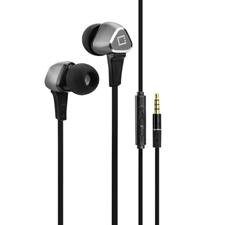Cellet Universal 3.5mm 4' Flat-Wire Stereo Handsfree w/ Microphone & Multi-function Remote
