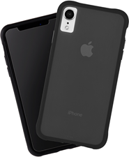 CaseMate iPhone XR Tough Matte Case Plus Glass Screen Protector