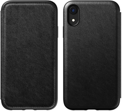 Nomad iPhone XR Rugged Leather Folio Case