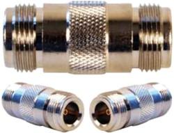 weBoost Wilson N female-N female barrel to connect (2) 9913 coax w/N male end