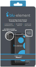 Blu Element iPhone XS/X 3D Curved Glass Screen Protector