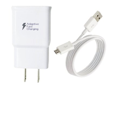 Samsung Fast Charge Micro Home Charger (Head & Data Cable)