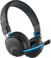 JLab Audio - Play Gaming Wireless Headphones - Black/Blue
