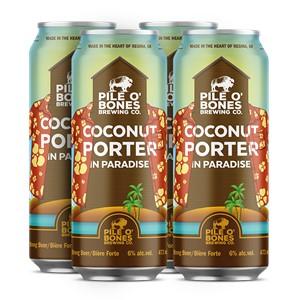 Pile O' Bones Brewing Company 4C Pile O' Bones Coconut Porter 1892ml