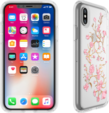 Speck iPhone XS/X Presidio Clear Print Case