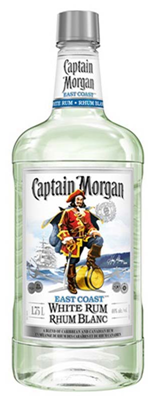 Diageo Canada Captain Morgan White Label 1750ml