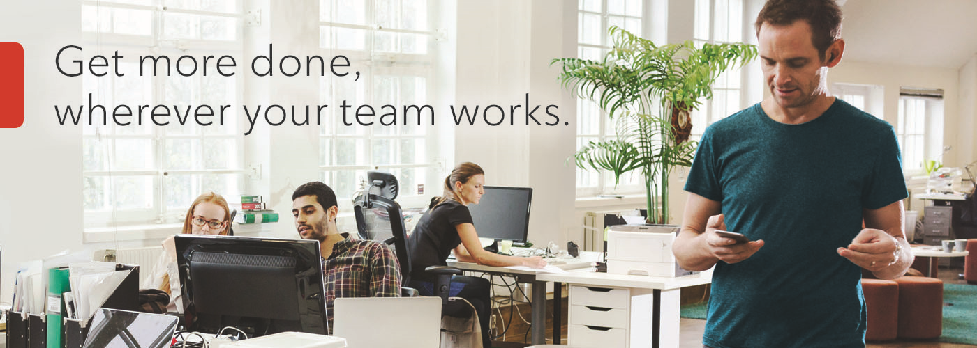 Rogers - Get more done, wherever your team works