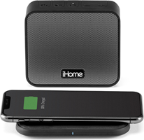 iHome Portable BT Speaker with Wireless Charging