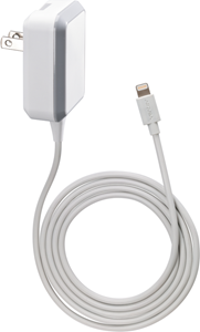 Ventev Essentials Wall Charger Lightning 2.4A 4ft Cable