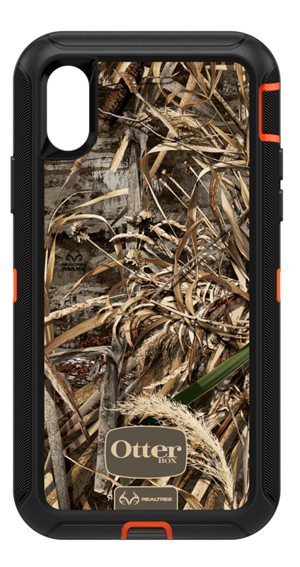 best service 9513a 66ad6 OtterBox iPhone XS MAX Defender Realtree Camo Case Price and Features