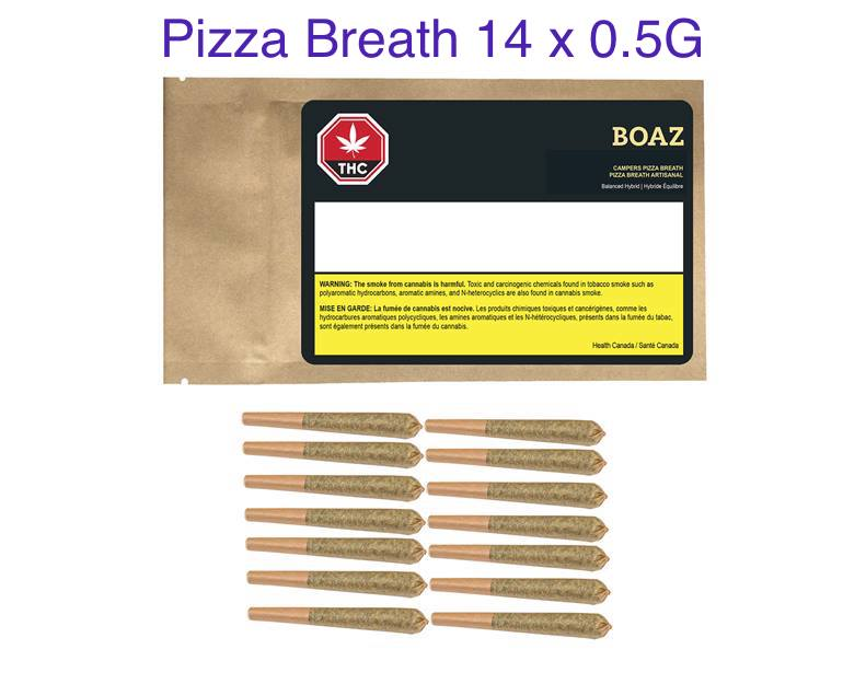 Boaz - Campers Pack Pizza Breath 14x0.5g Pre-Rolls Image