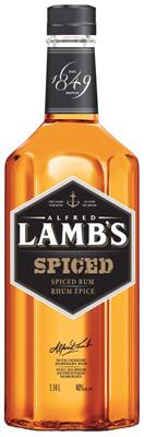 Corby Spirit & Wine Lamb's Spiced Rum 1140ml