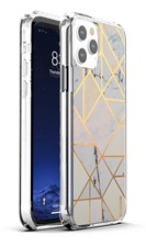 Base - iPhone 13 Pro Max Marble Luxury Shockproof Cover Case