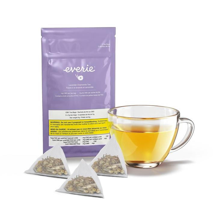 Product image of Lavender Chamomile CBD Tea - Everie - Tea