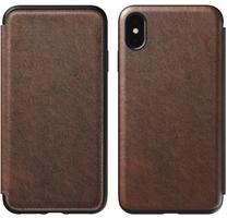Nomad iPhone XS Max Rugged Leather Folio Case