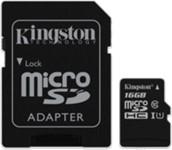 Kingston 16GB UHS-I Class 10 microSDHC Canvas Select Flash Card