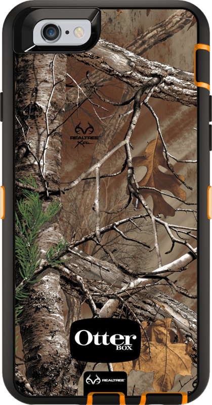 reputable site ce2b7 5d833 OtterBox iPhone 6/6s Defender Case with Realtree Camo Price and Features