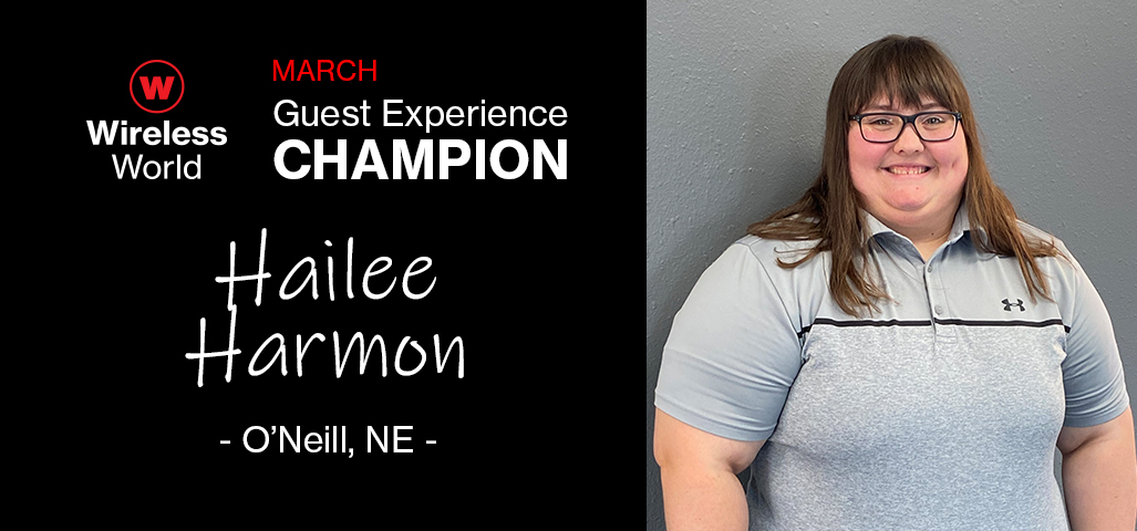 March Guest Experience Champion