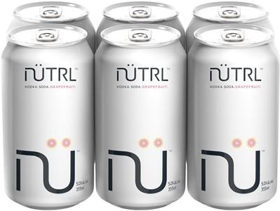 Mike's Beverage Company 6C Nutrl Vodka Soda Grapefruit 2130ml
