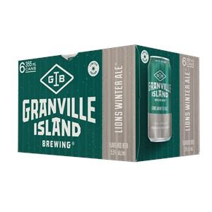 Molson Breweries 6C Granville Island Lions Winter Ale 2130ml