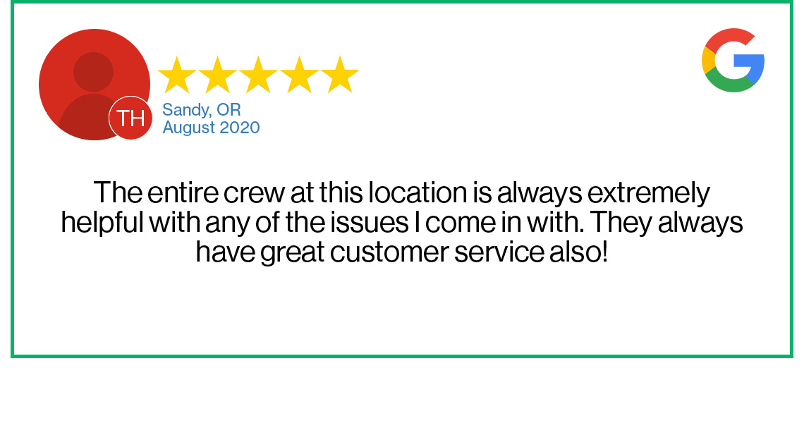 Check out this recent customer review about the Verizon Cellular Plus store in Sandy, Oregon.
