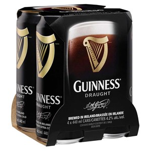 Diageo Canada 4C Guinness Pub Draught 1760ml
