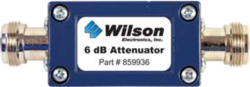 weBoost Wilson 6 db attenuator with N female connectors