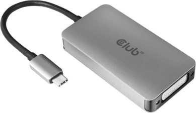 Club3D - USB-C to DVI Dual Link Support 4K30HZ Resolutions