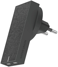 Native Union SMART CHARGER-DUAL USB FABRIC-INTL