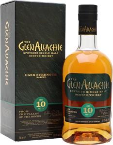 Authentic Wine & Spirits The GlenAllachie 10YO Cask Strength Batch 5 Scotch Whisky 700ml