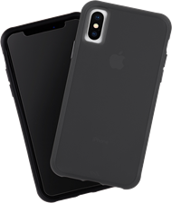CaseMate iPhone XS/X Tough Matte Case Plus Glass Screen Protector