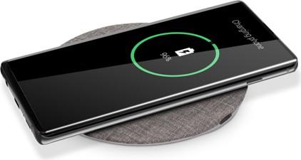PowerPeak Aluminum 15W Fast Charging Wireless Pad