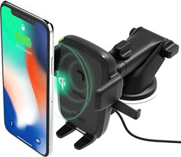 iOttie - Easy One Touch Wireless Charging Dash Mount