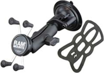 RAM Mounts Twist Lock Suction Cup Mount with X-Grip Holder