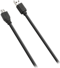 KEY 1m USB to microUSB Data Cable