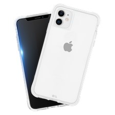 Case-Mate iPhone 11 Protection Pack Tough Clear Case Plus Glass Screen Protector