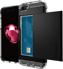 Spigen iPhone 7 Crystal Wallet Case