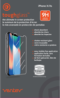 Ventev iPhone X/XS toughglass Screen Protector
