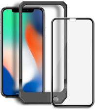 iPhone XS/X Blu Element 3D Curved Glass with Installation Kit