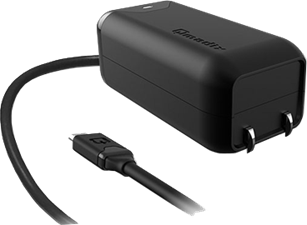 Qmadix 2.1A microUSB Wall Charger with 6' Round Cord