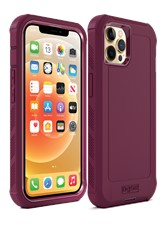 Base - iPhone 13 Pro Max Bolder Heavy Duty Co-Molded Rugged Protective Case